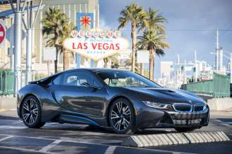 BMW Group at the CES 2016, BMW i8 Mirrorless (01/2016)