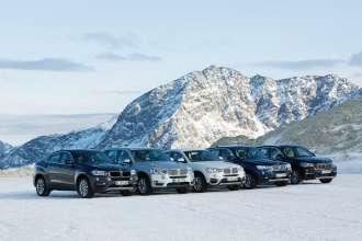 BMW xDrive model range (12/2015).