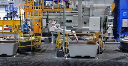 neues BBA Motorenwerk in Shenyang/China – Leichtmetallgießerei (01/2016)