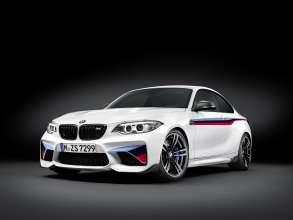 Das neue BMW M2 Coupé mit BMW M Performance Zubehör (02/2016).