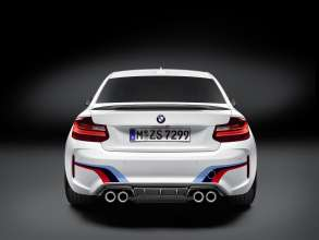 The new BMW M2 Coupe with BMW M Performance Parts (02/2016).