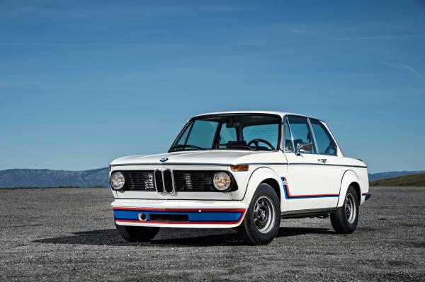 The BMW 2002 turbo (07/2016).