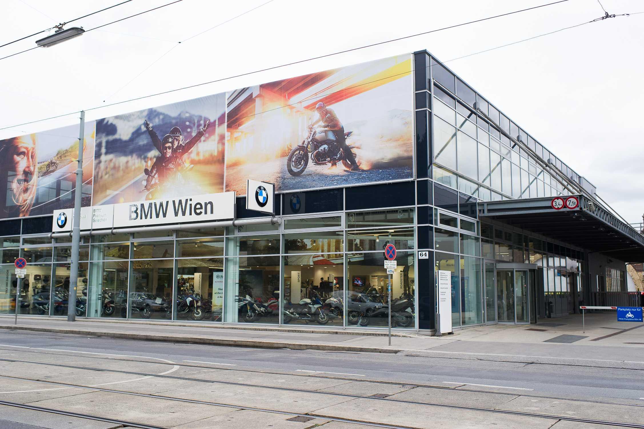 Neues Bmw Motorrad Zentrum Wien