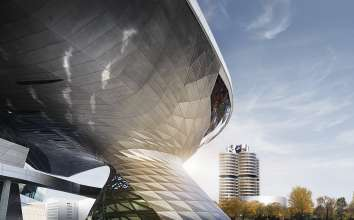 BMW Welt - BMW Group Corporate Headquarters (02/2016)