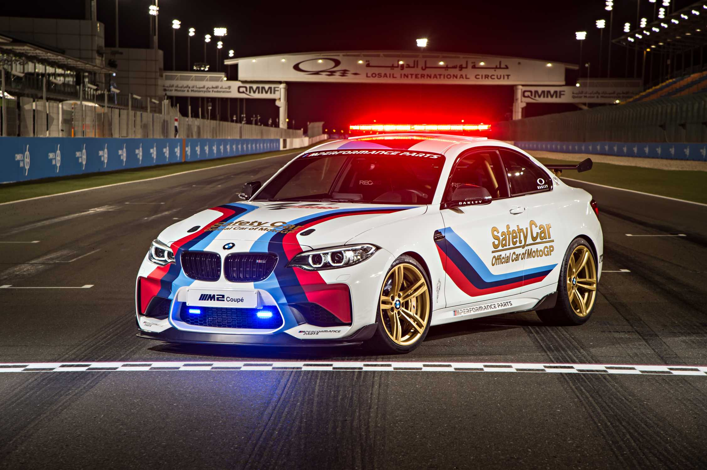 Official Car Of Motogp Bmw M Starts The 2016 Season With New M2 Safety