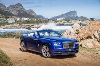 Rolls Royce Dawn Named Luxury Car Of The Year By Top Gear Magazine