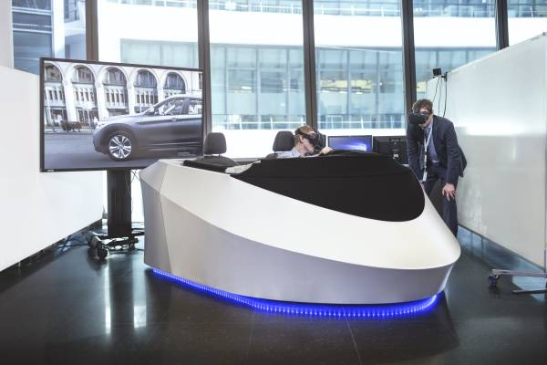 Bmw Opts To Incorporate Htc Vive Vr Headsets And Mixed Reality Into The Development Of New Vehicle Models Computer Images Instead Of Laboriously Constructed Draft Models Greater Flexibility Faster Results And Lower