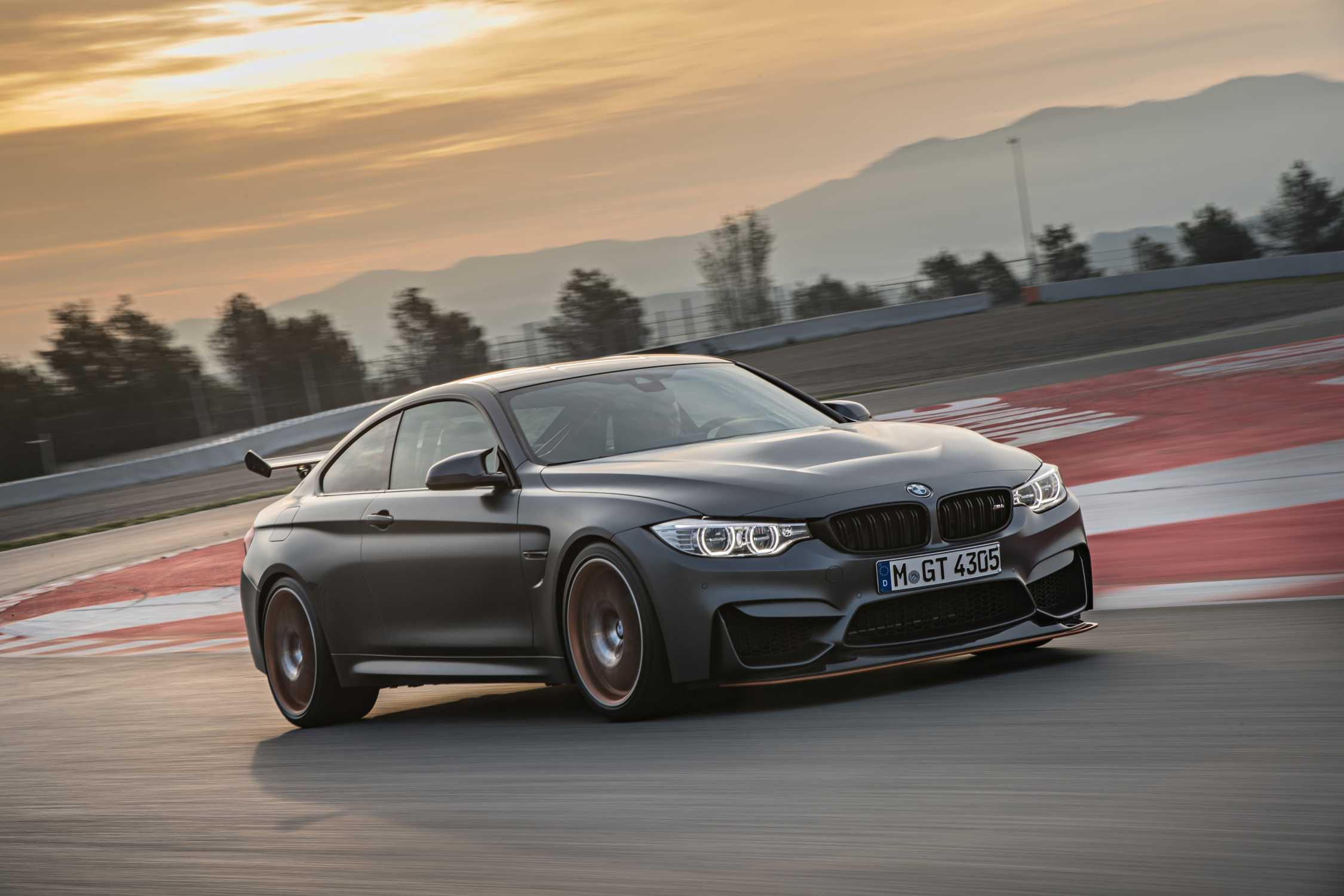 The new BMW M4 GTS