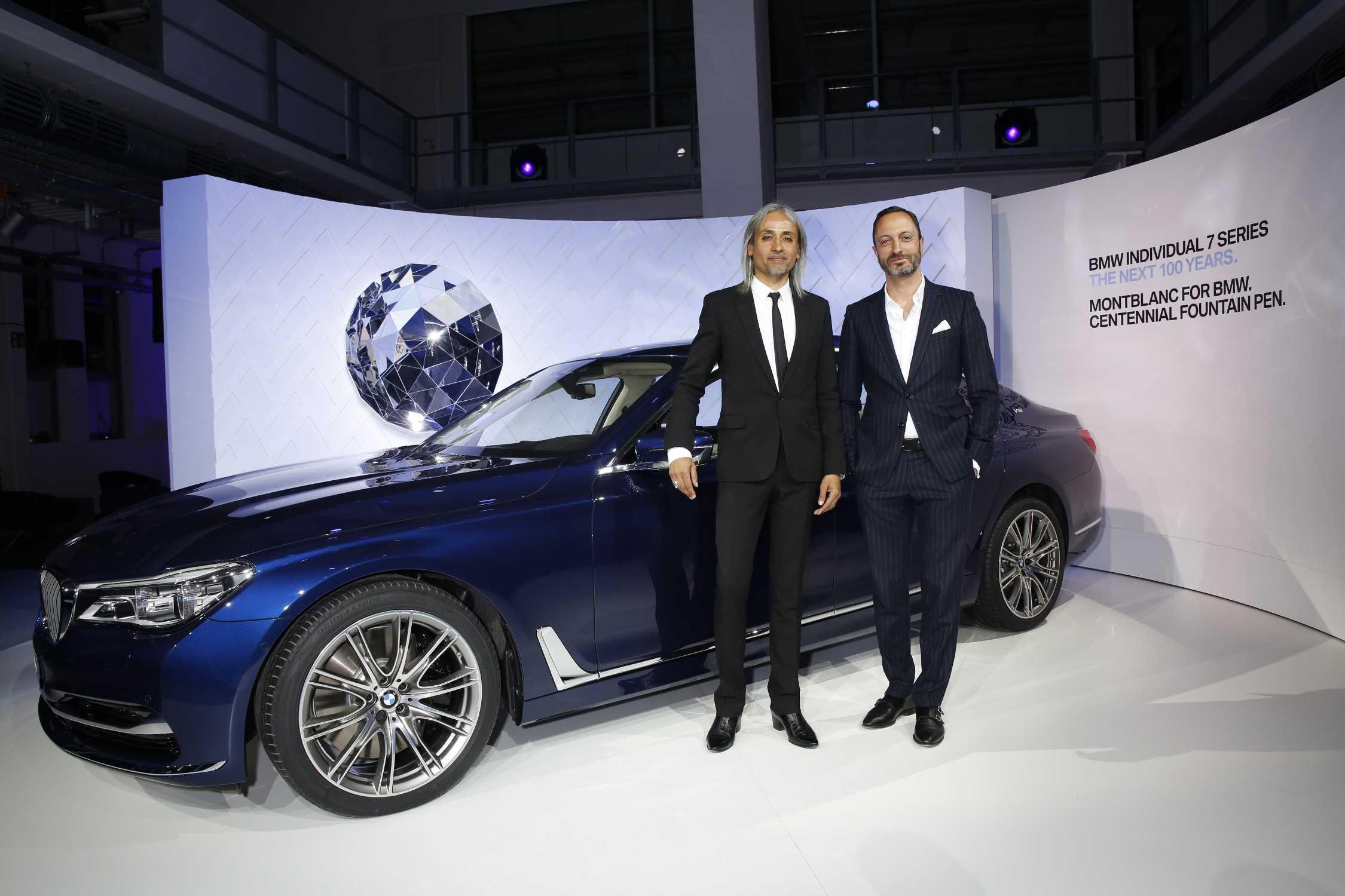 Zukunftsweisender Luxus Die BMW 7er Jubilaumsmodelle Individual THE NEXT 100 YEARS