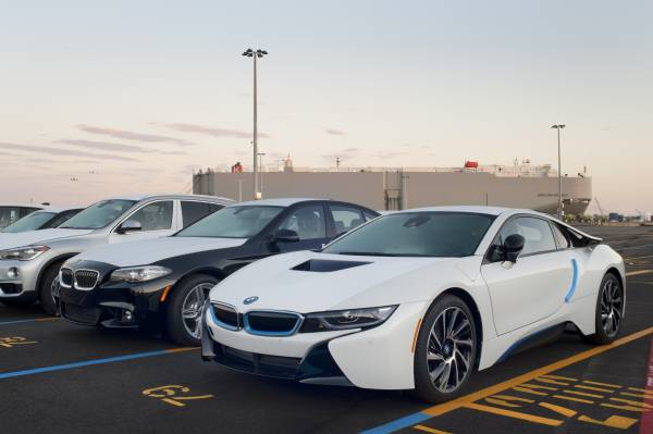 Bmw Group Opens New Vehicle Distribution Center In Galveston Tx