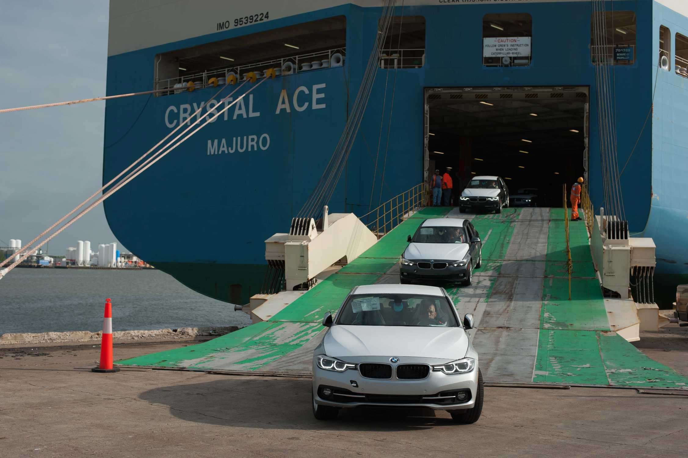 Bmw Group Opens New Vehicle Distribution Center In