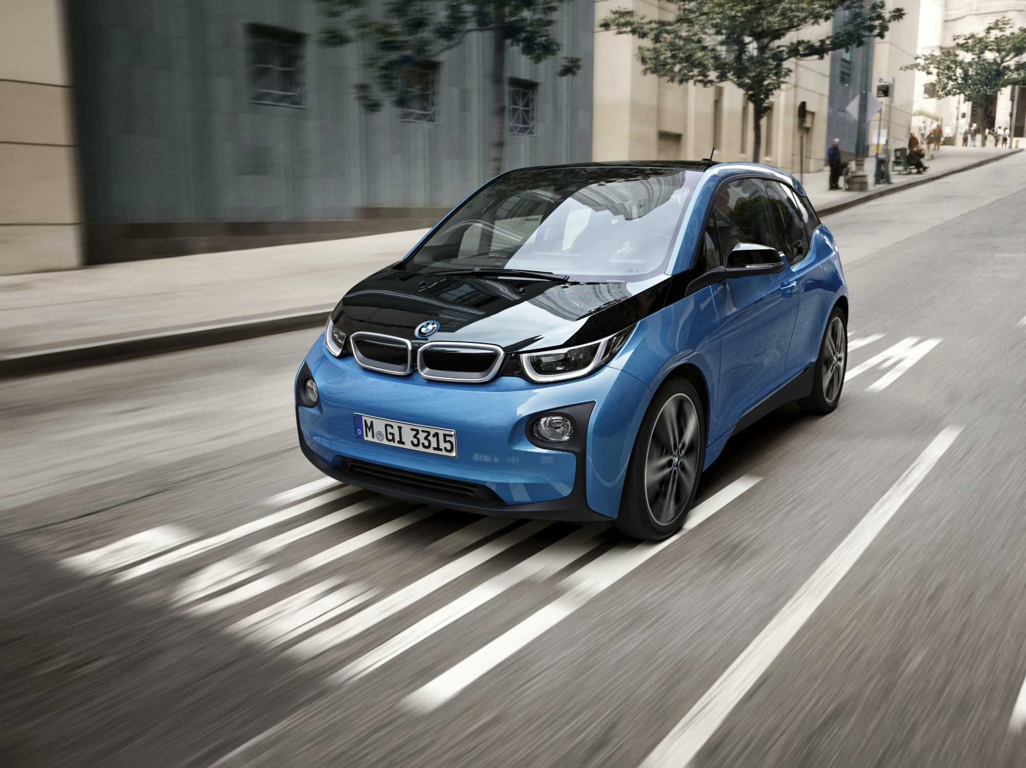 The New 2017 Bmw I3 94 Ah More Range Paired To High Level Dynamic