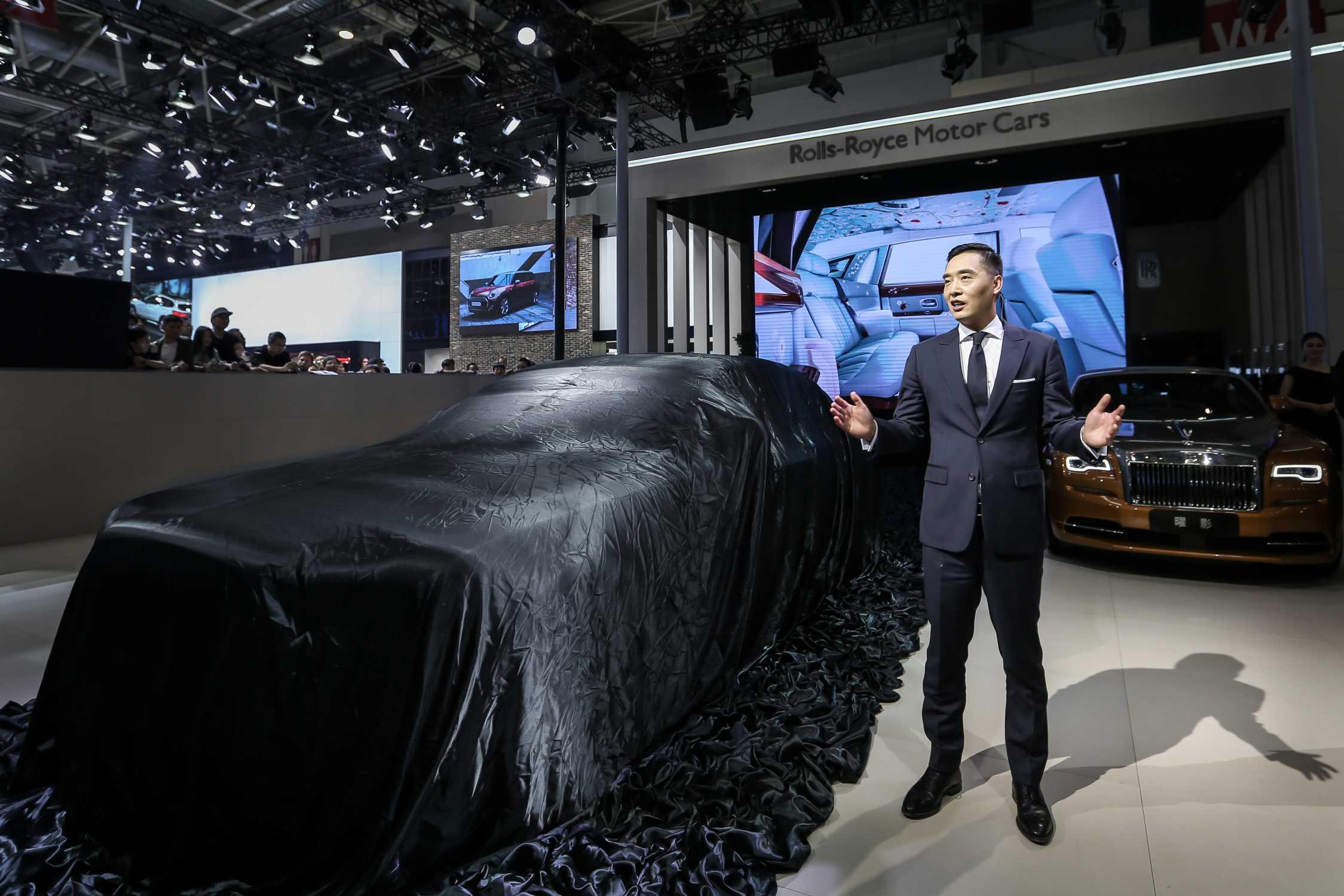 THREE DEBUTS FOR ROLLS ROYCE MOTOR CARS AT AUTO CHINA 2016