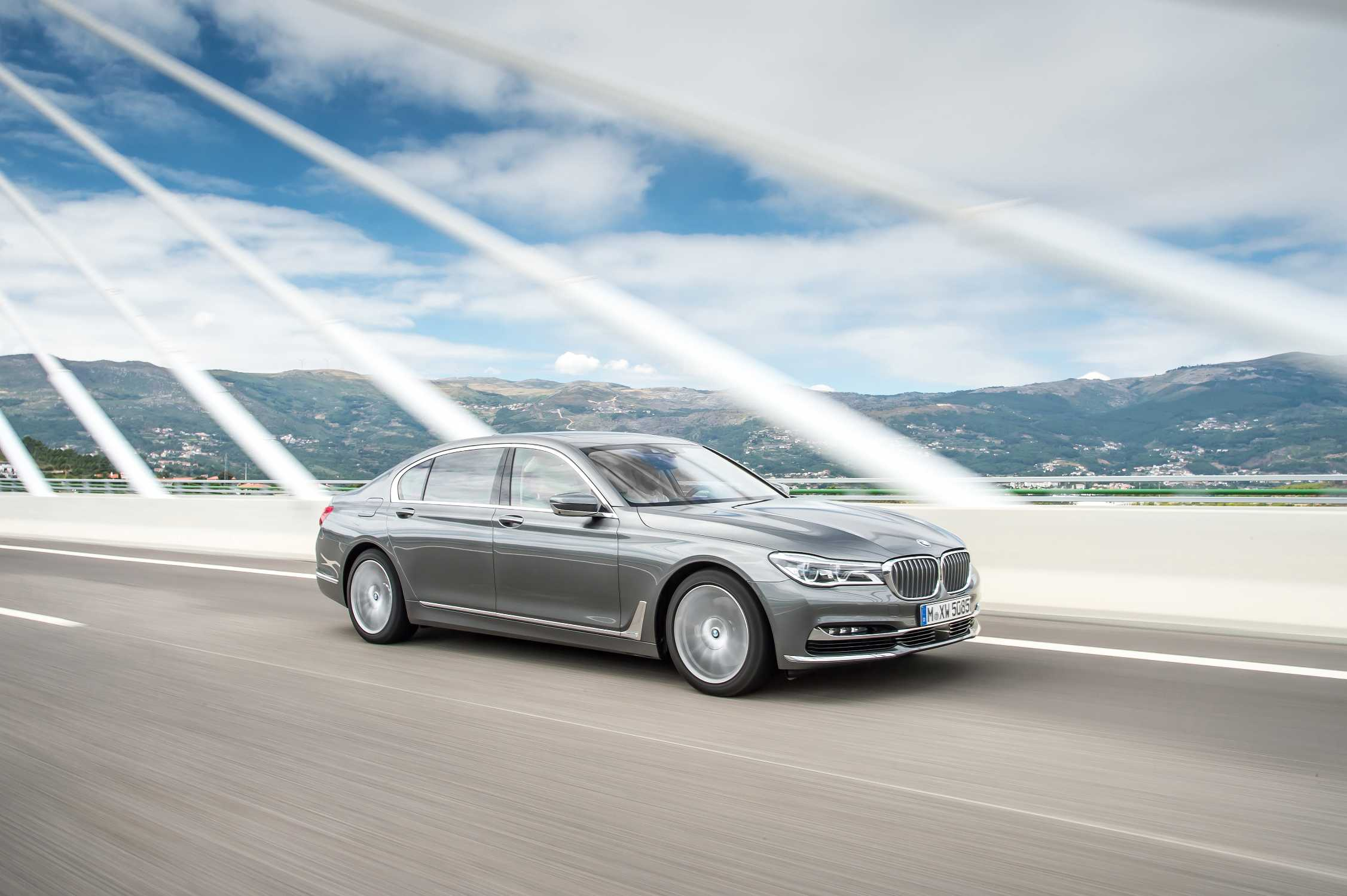Celebrating Its Premiere In The Bmw 7 Series Model Range The