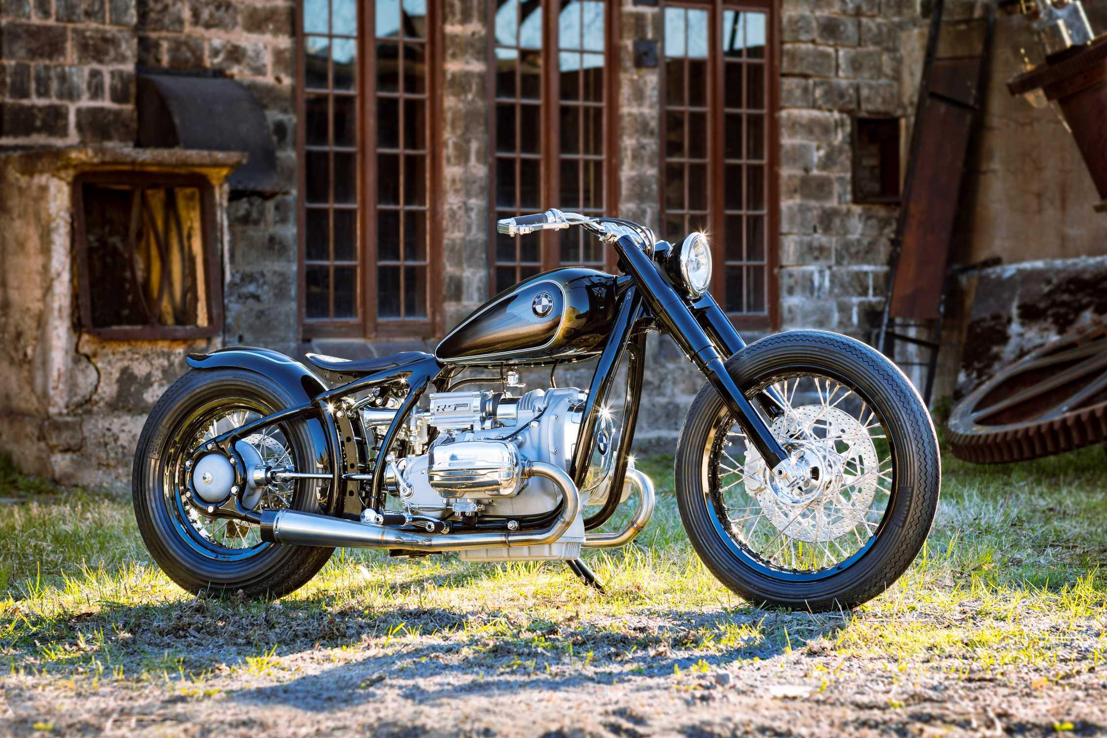 BMW Motorrad R 5 Hommage. Custom trifft Heritage auf dem Concorso d ...