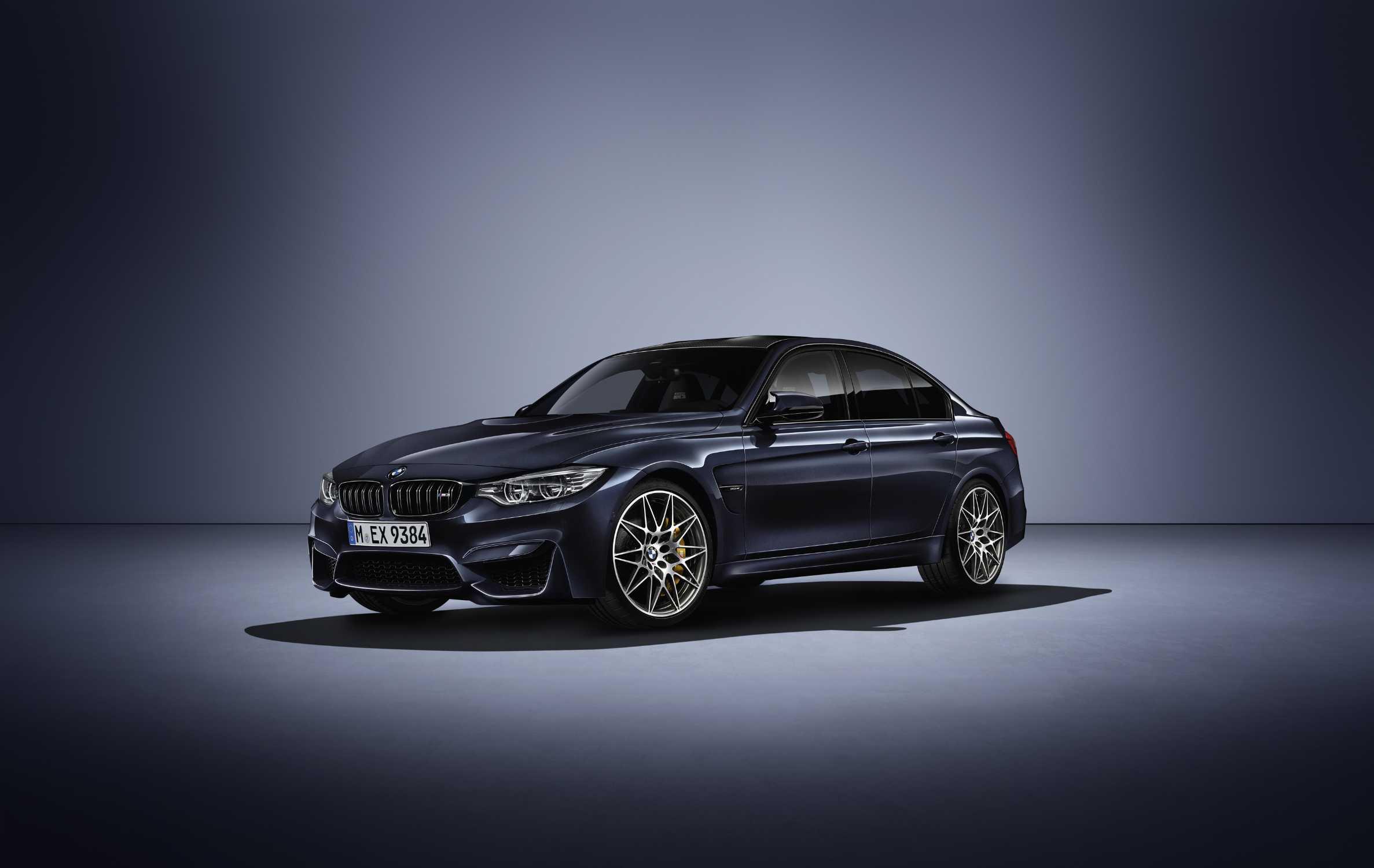 """Exklusive Sonderedition BMW M3 """"30 Jahre M3"""". BMW M feiert ..."""