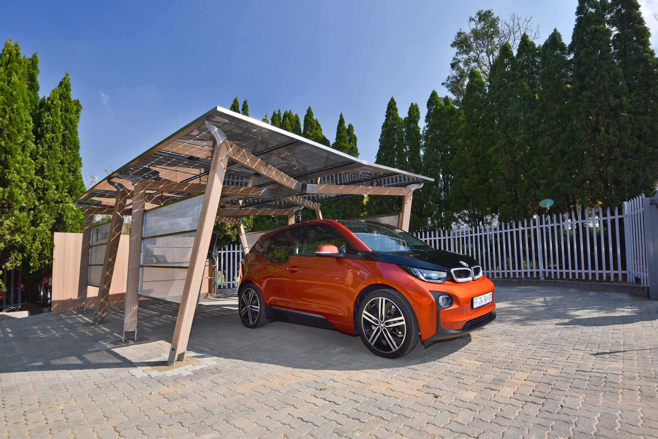 Bmw South Africa Starts Rolling Out Solar Carport Charging For