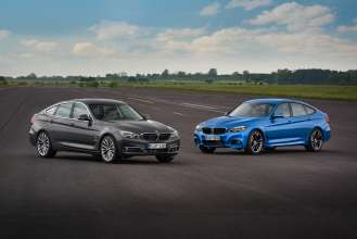 BMW 3 Series Gran Turismo, Luxury model and M Sport model (06/2016)