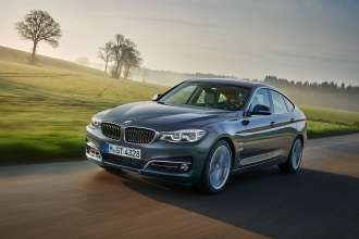 BMW 3 Series Gran Turismo, Luxury model (06/2016)