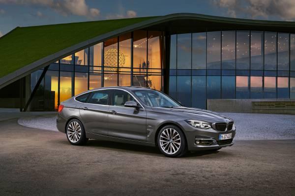 BMW 3 Series Gran Turismo, Luxury model (06/2016)
