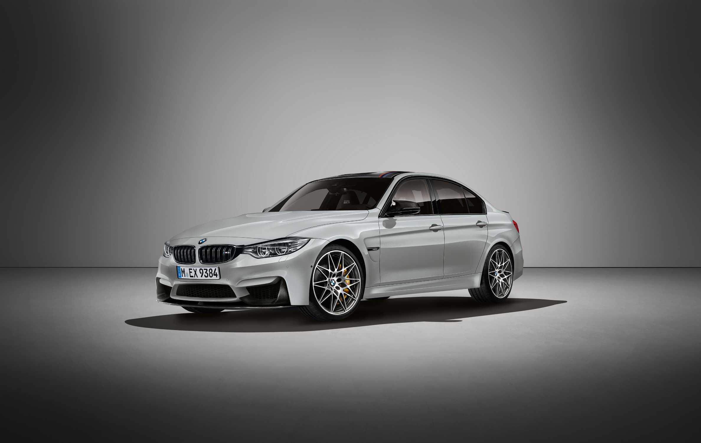 The New Bmw M3 30 Jahre Limited Edition