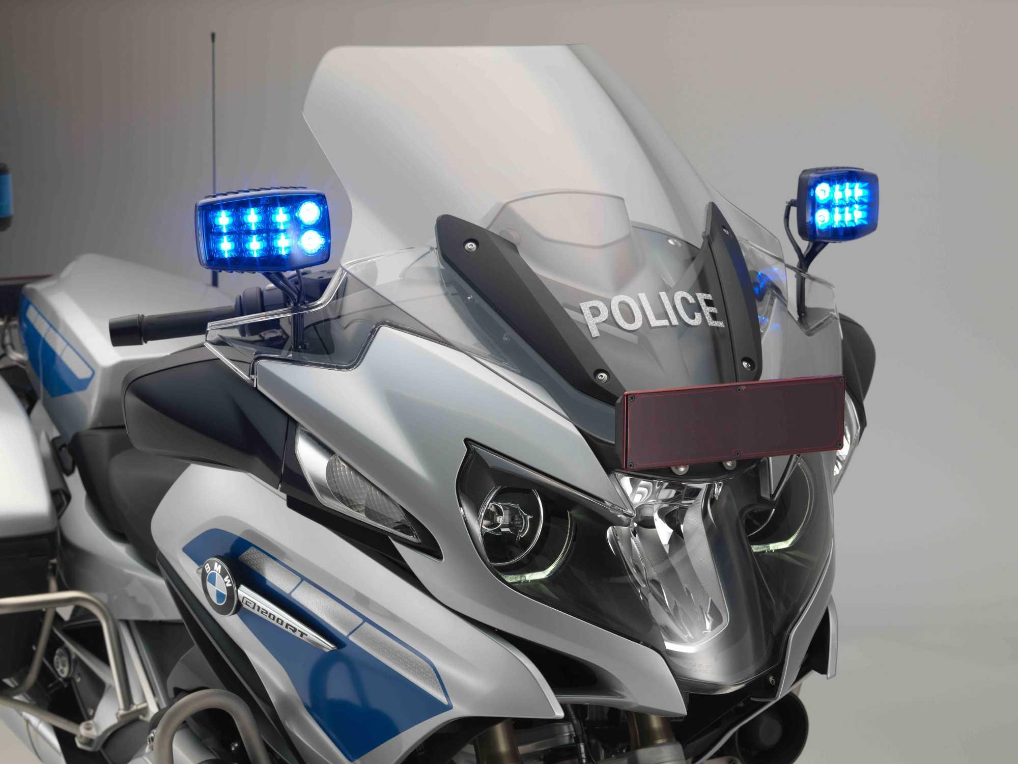 Bmw R 1200 Rt Polizei 06 2016