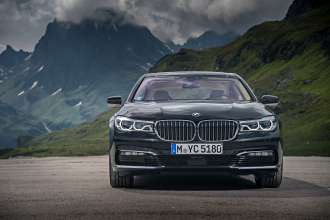 BMW 740Le xDrive iPerformance (07/2016).