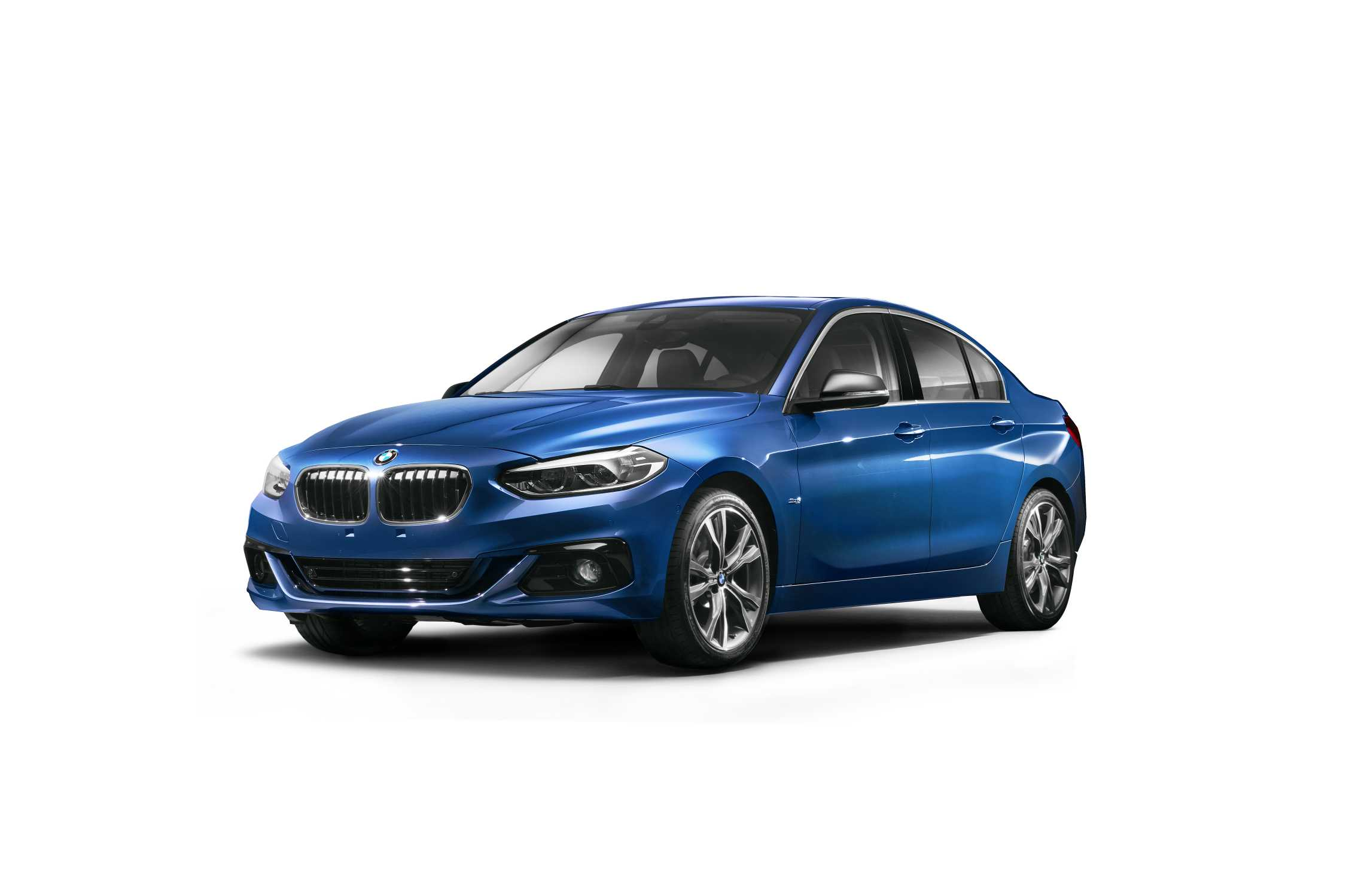 The All New Bmw 1 Series Sedan Exclusively For The Chinese Market