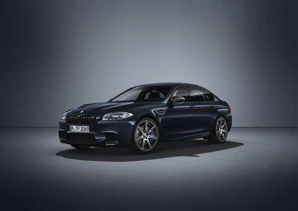 The New Bmw M5 Competition Edition