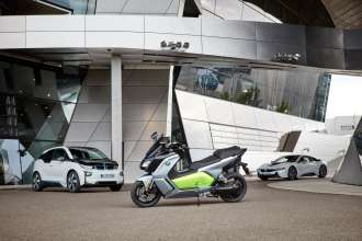 The new BMW C evolution - long range (09/2016)