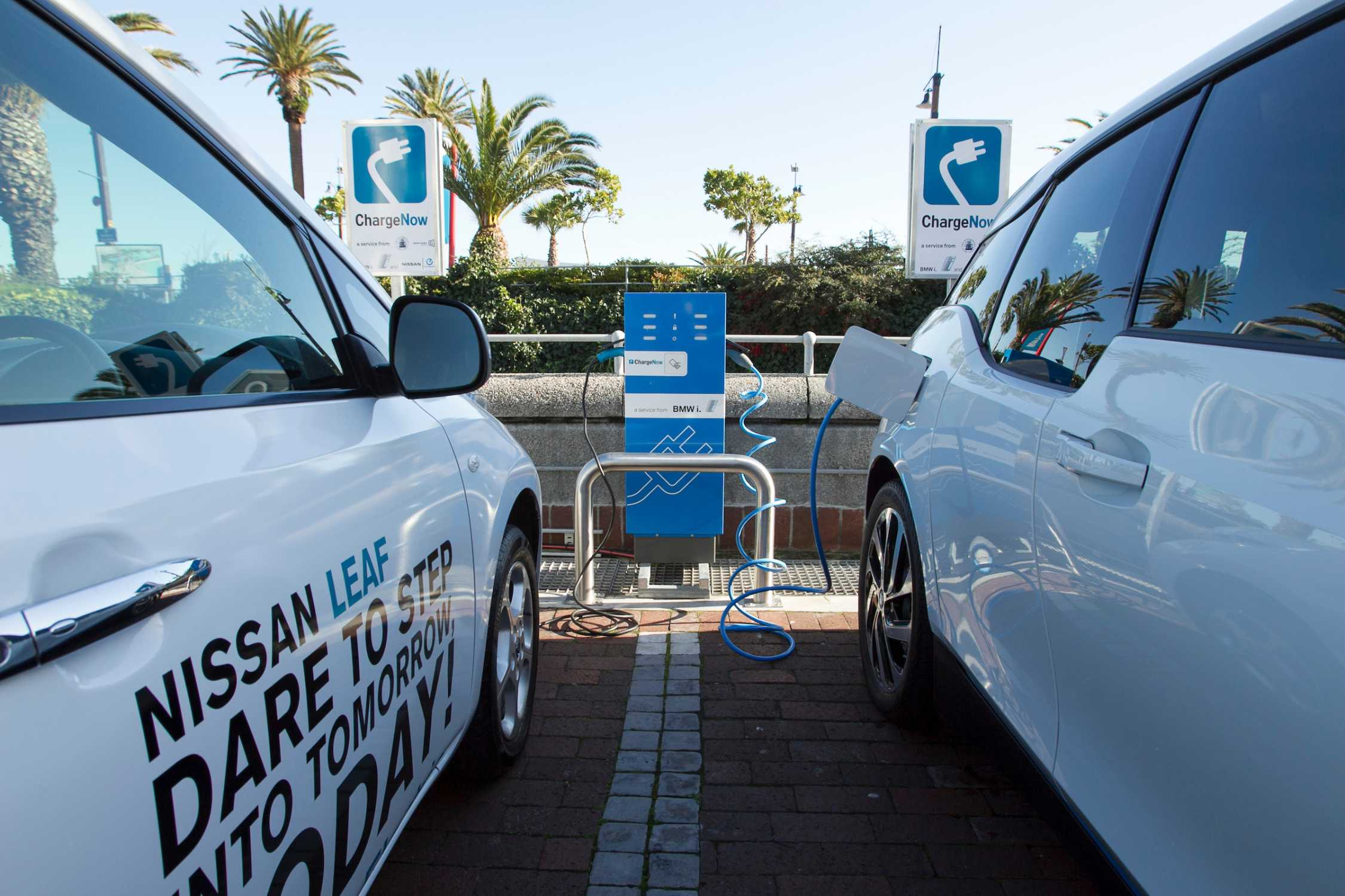 Bmw Group South Africa And Nissan South Africa Roll Out Electric