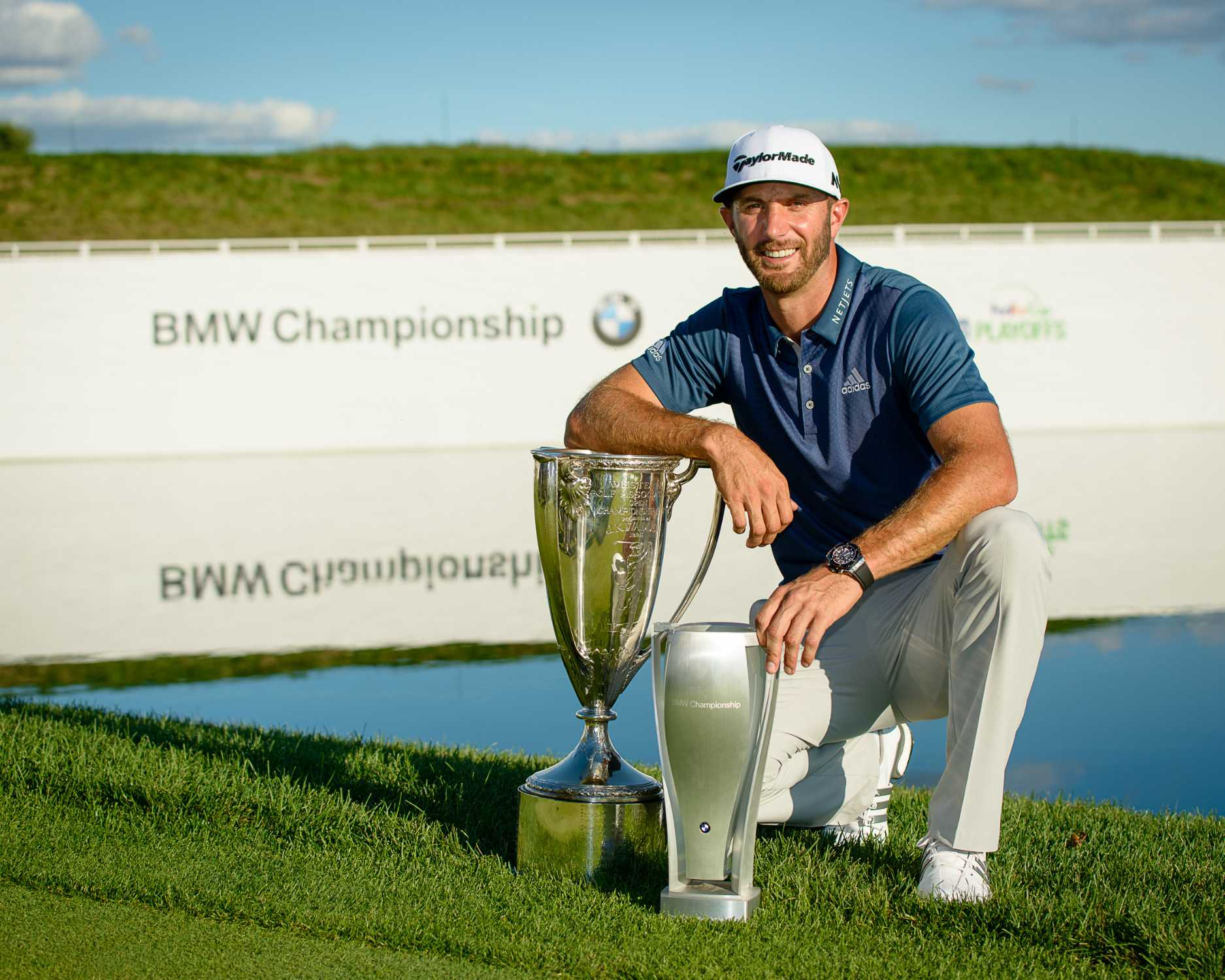 Dustin johnson wins the 2016 bmw championship at crooked for World wide motors carmel