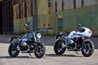 The new BMW R nineT Racer and BMW R nineT Pure (10/2016)