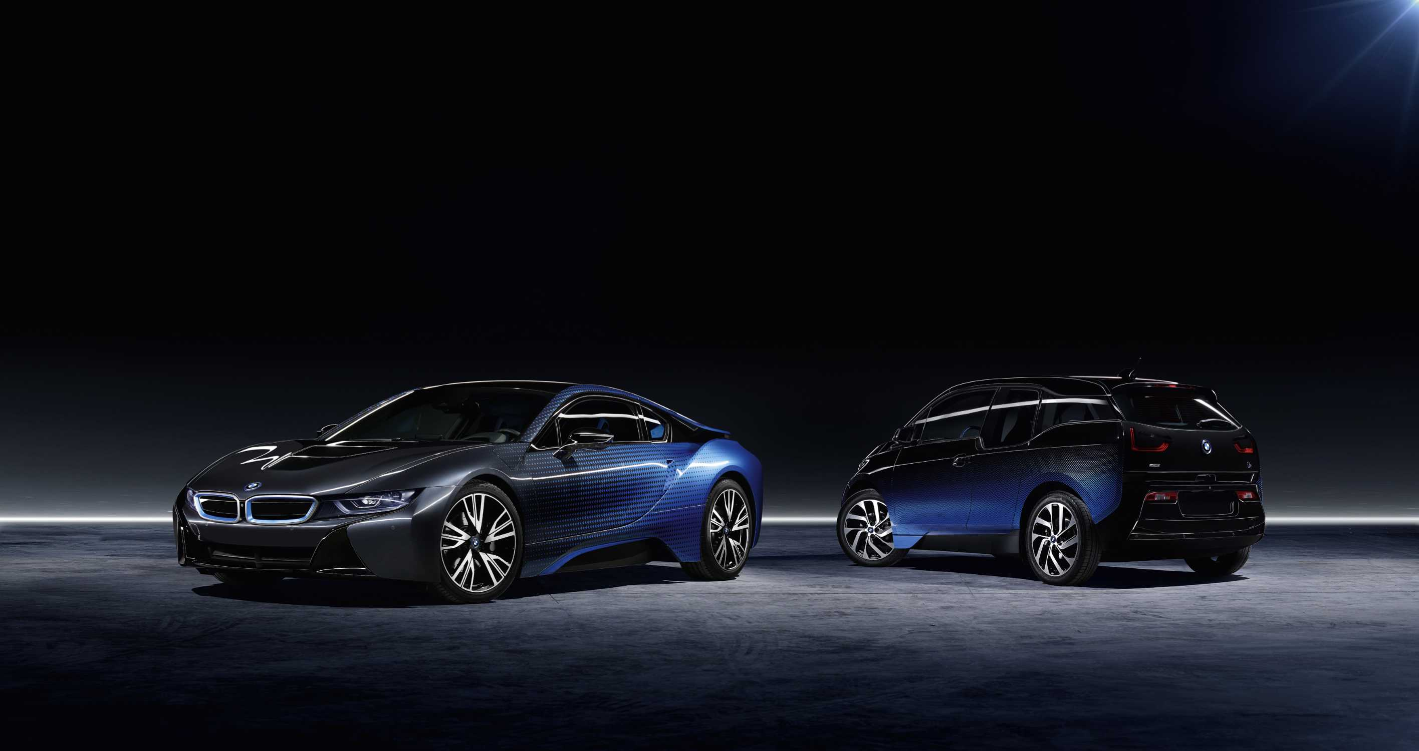 Bmw I And Garage Italia Customs To Present The Bmw I3 And The Bmw I8