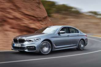 The new BMW 5 Series Sedan M Sport (10/2016).