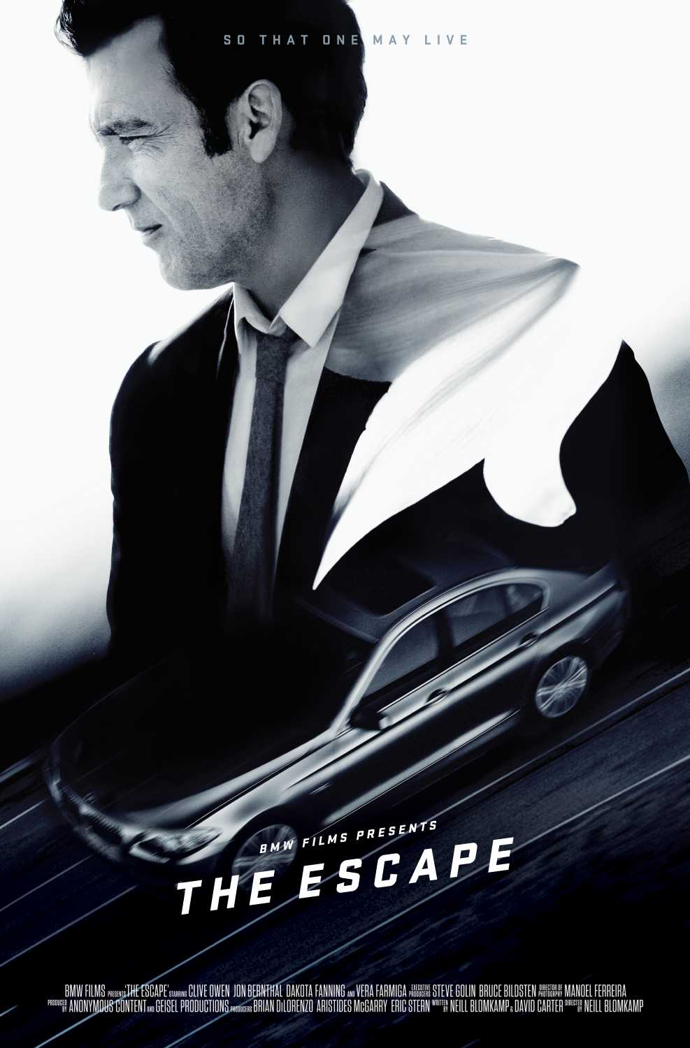 Bmw Films The Escape Premieres On Sunday October 23