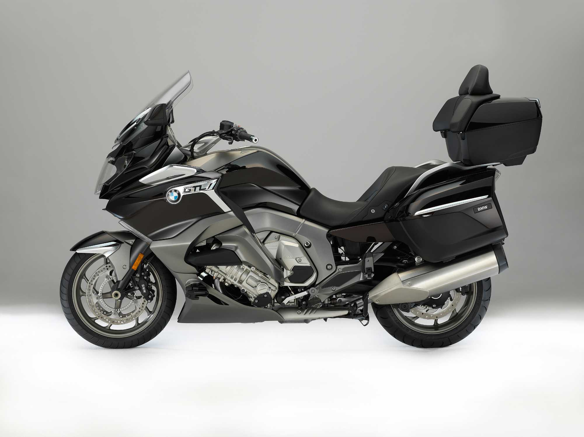 Bmw Motorrad Presents The New Bmw K 1600 Gtl The Luxurious Performance Touring Bike Has Been Further Refined And Optimised