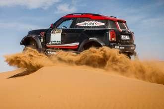 11/2016 Morocco - New MINI John Cooper Works Rally – Dakar 2017  (11/2016)