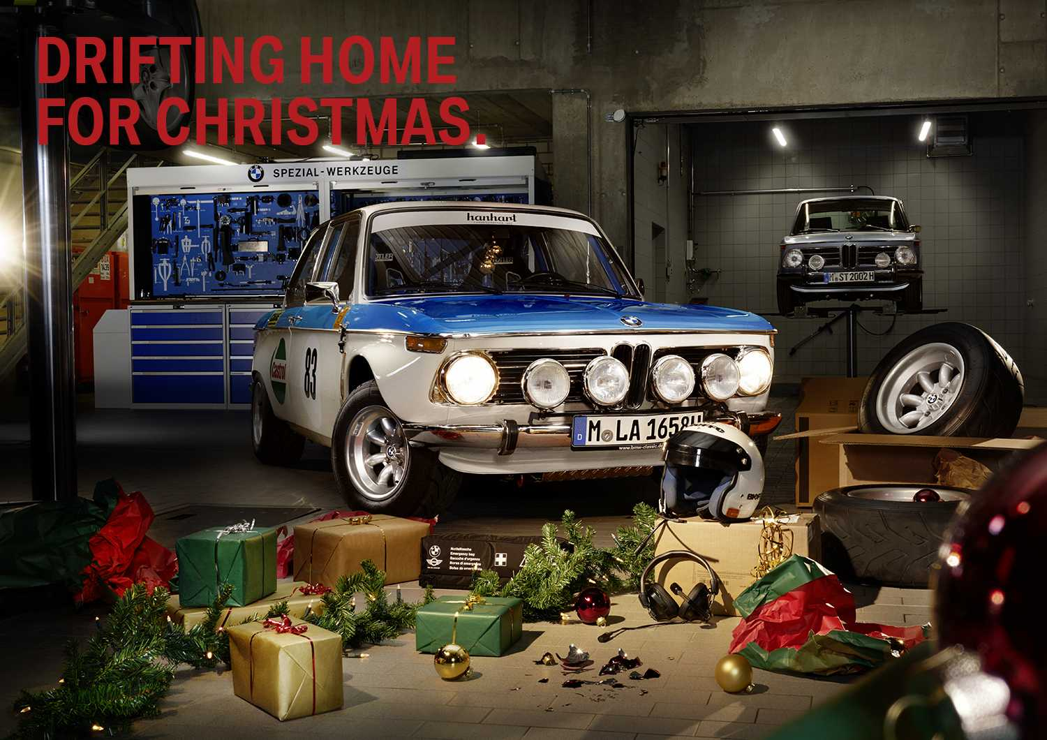 MERRY CHRISTMAS BMW Group Classic XMAS 12 2016