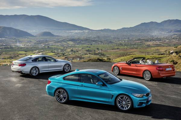 The new BMW 4 Series (01/2017).