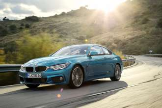BMW 4 Series M Sport Coupe (01/2017).