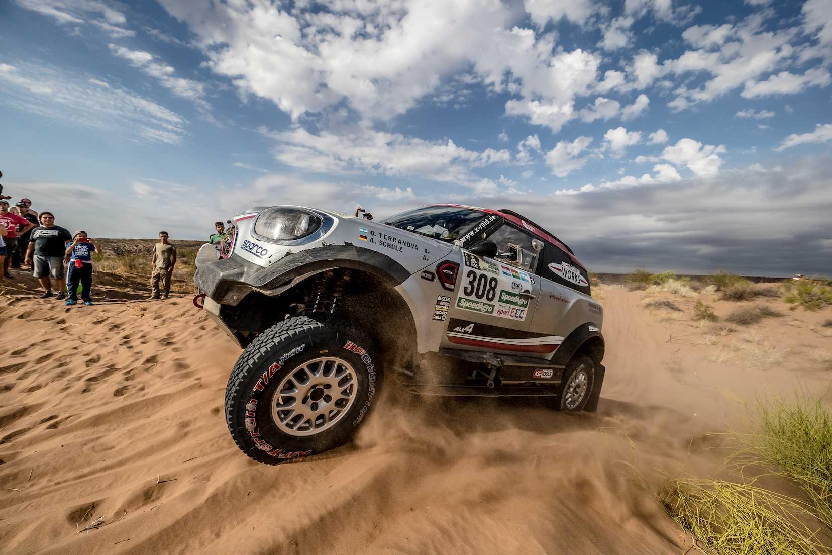 2017 Dakar Rally – Leading MINI John Cooper Works rally car ...