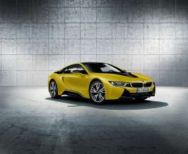 The new BMW i8 Frozen Yellow Edition (01/2017).
