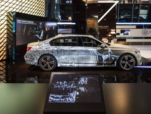 BMW Projection Mapping. Installation in the BMW Welt. (01/2017)