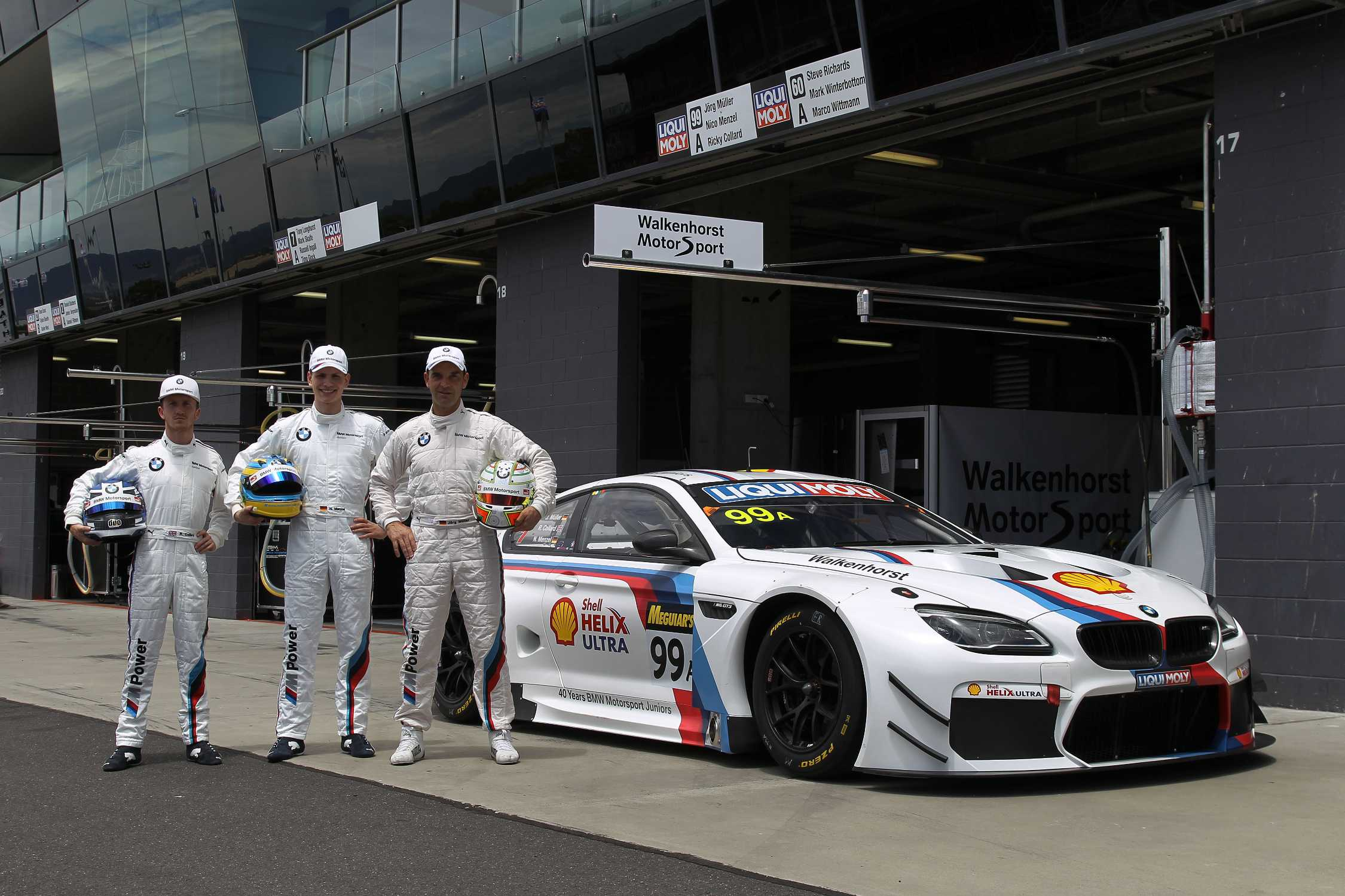 41e01ce08c0c Four decades of extensive support  40 years of BMW Motorsport junior  promotion.