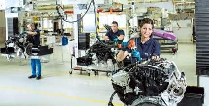 BMW Group Werk Steyr – Motorenmontage (02/2017)
