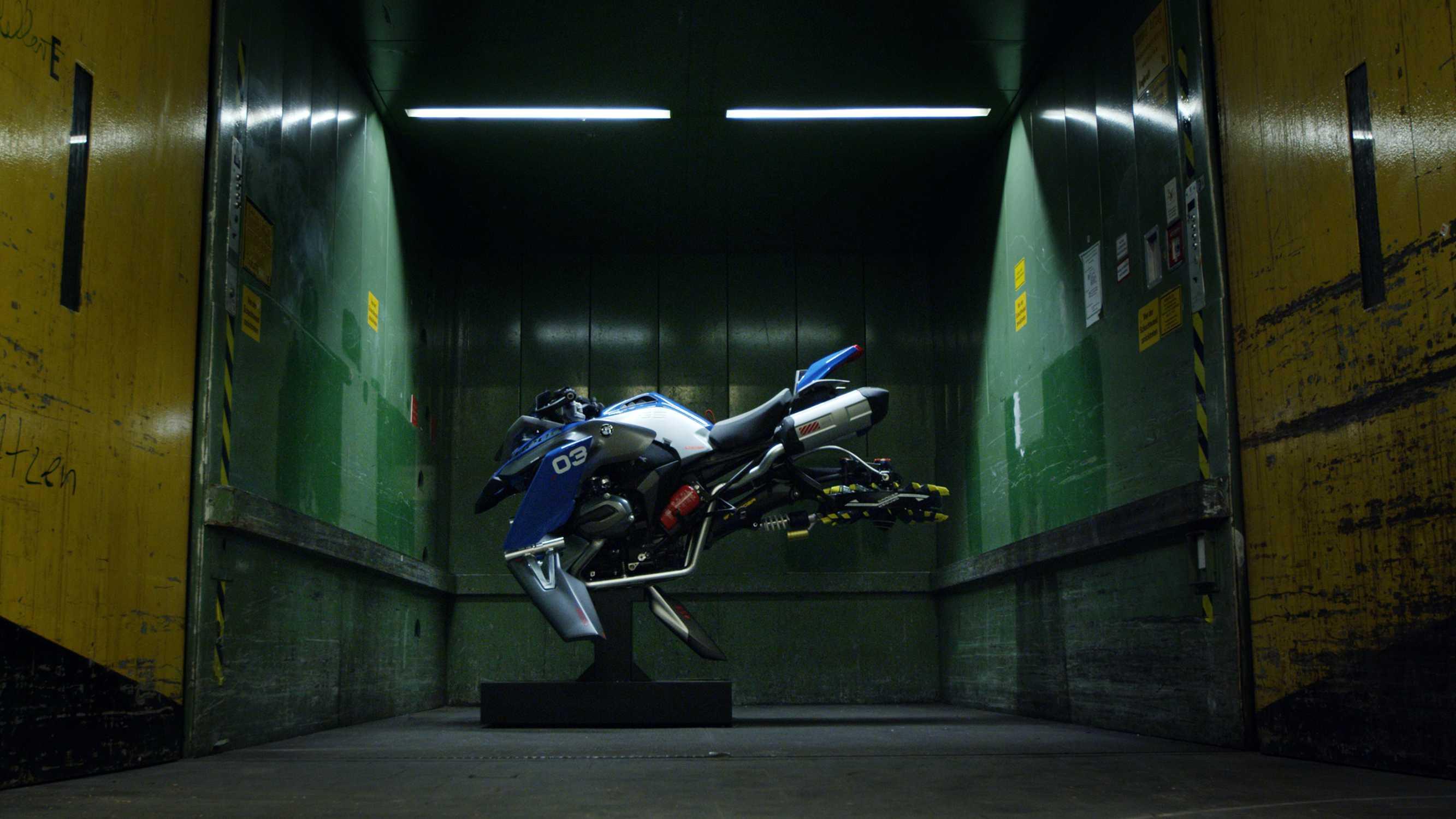 Bmw Motorrad And Lego Technic Present The Hover Ride Design Concept
