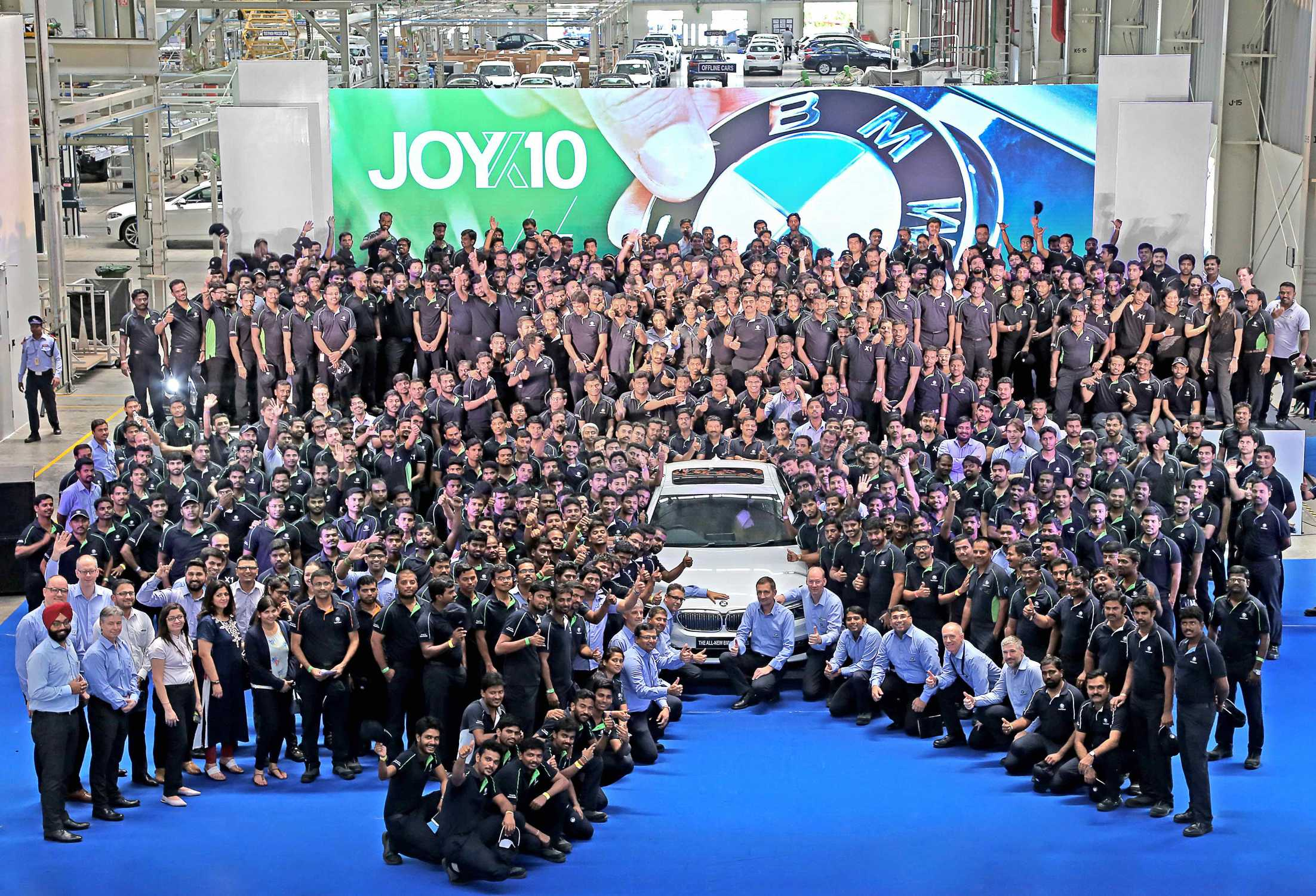 BMW Group Plant Chennai Scores A Decade Of Sheer Driving Pleasure