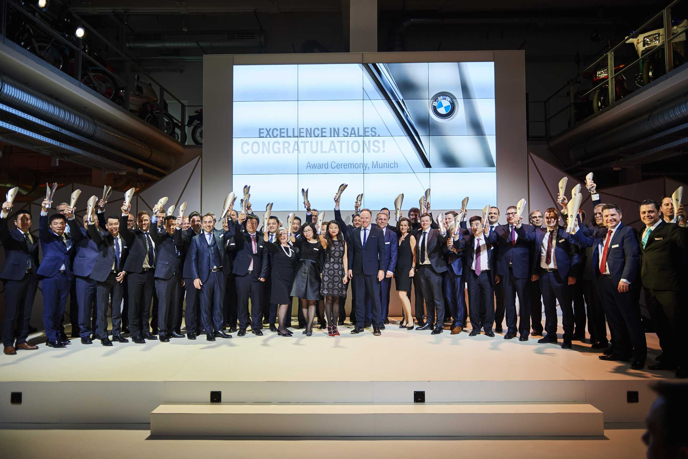 World Auto Sales >> BMW honours the best dealers in the world. Excellence in Sales Awards presented in Munich.