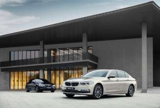The all-new BMW 5 Series Long Wheelbase.(04/2017)